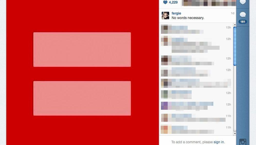 Prominente Unterstützer der Homo-Ehe: Solidarisch in Rot-Pink