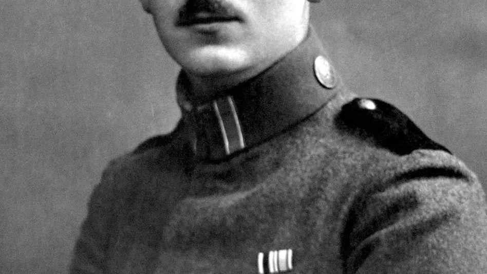 Foto von Ernst Pauleit aus dem Jahr 1917: Der junge Soldat schrieb Tagebuch über seinen Einsatz im Ersten Weltkrieg