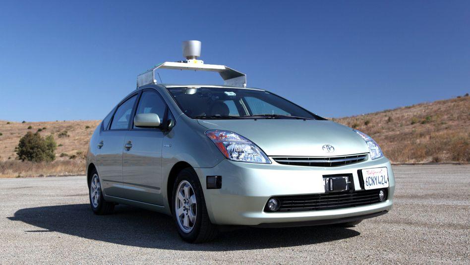 Selbstfahrendes Auto: US-Kunden vertrauen auf Google und Co.