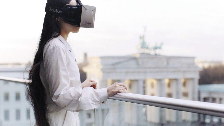 Video-Still aus »Speculative Ambience« für die »Berlin Biennale«