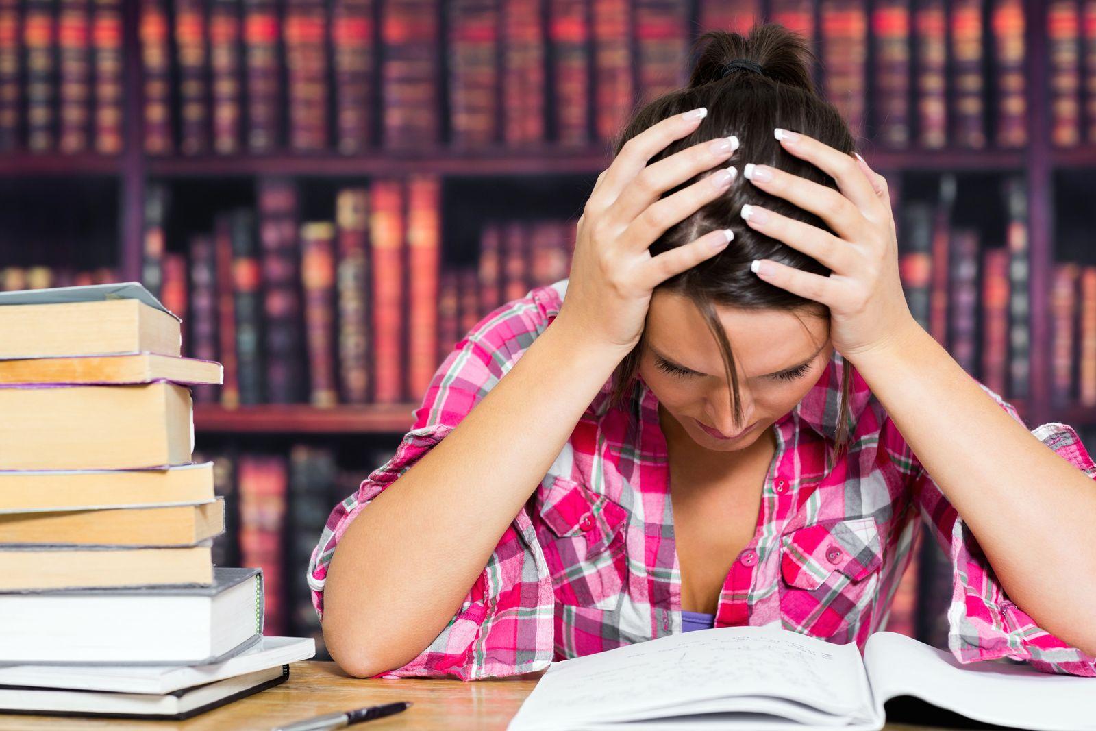 NICHT MEHR VERWENDEN! - Studenten / Stress / Prüfung / Lernen