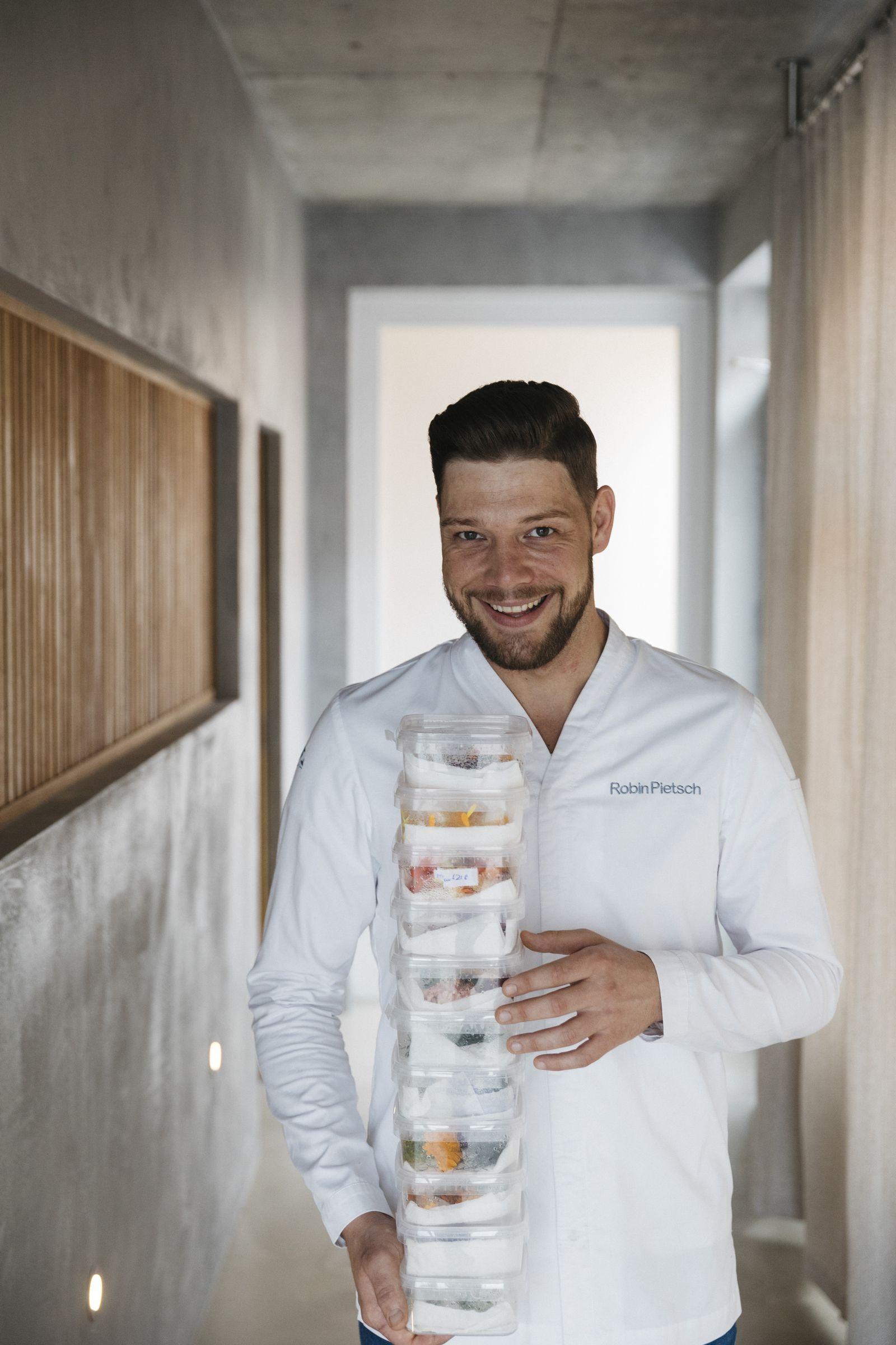 Robin Pietsch. Koch und Restaurantbetreiber