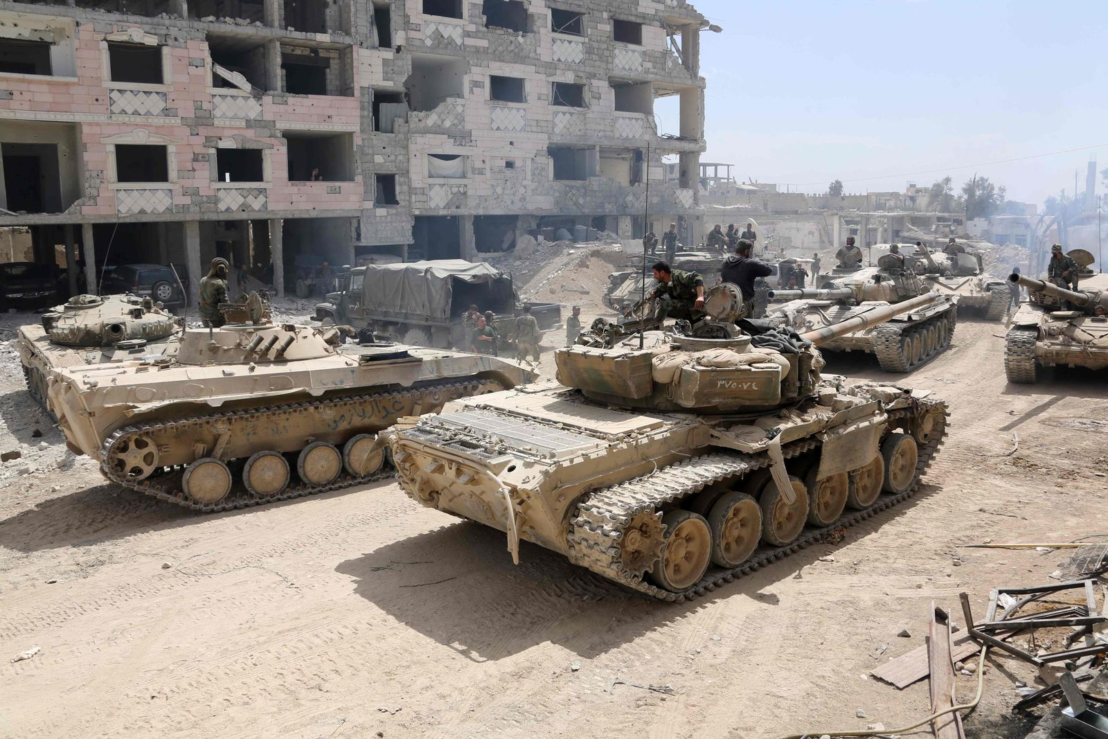 Syrien/ USA/ Drohungen