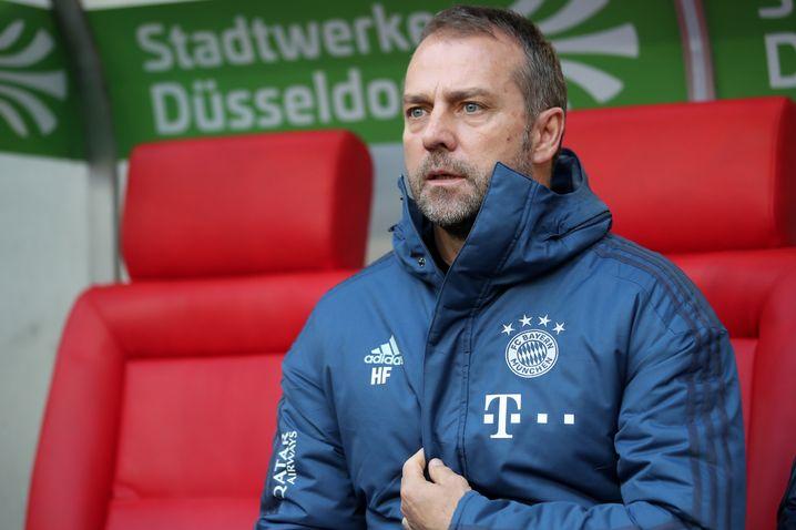 Mindestens acht Spiele wurden Hasni Flick als Cheftrainer zugesagt