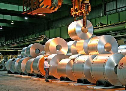 Stahlwerk (von ThyssenKrupp): Belastung durch den starken Euro