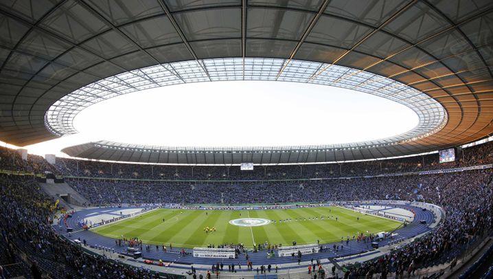 Einzug ins Pokalfinale: Dortmund ohne Mitleid für Herthas Traum
