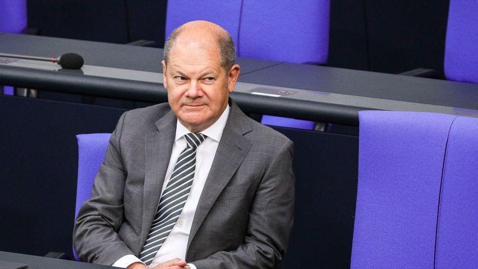 """Olaf Scholz, Bundesfinanzminister und nominierter Kanzlerkandidat der SPD: """"Ich leide nicht unter Ausschließeritis"""""""