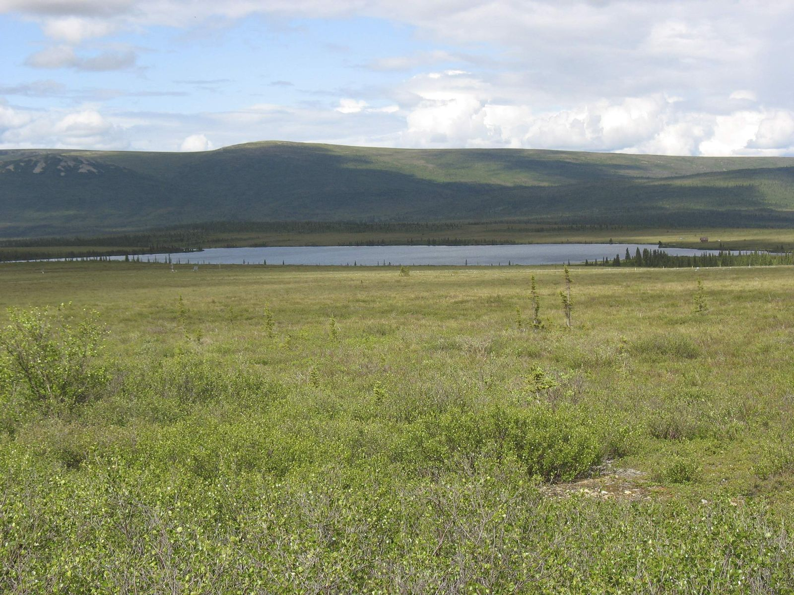 Eight Mile Lake / Alaska / Ureinwohner