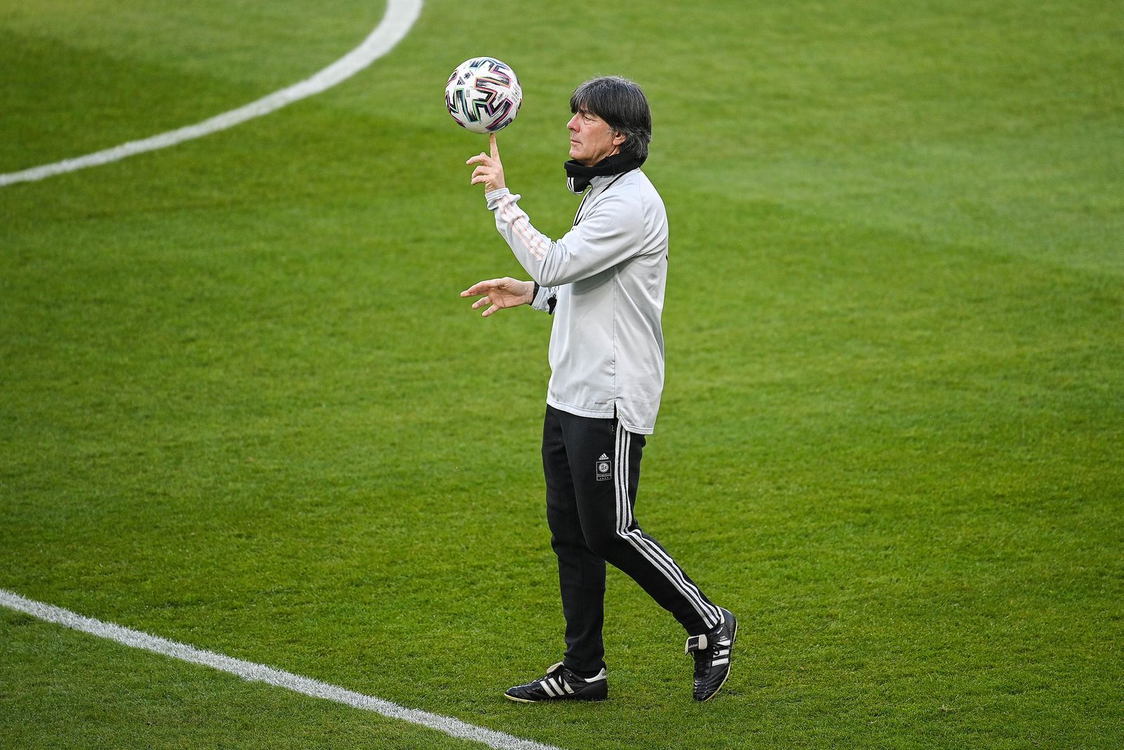 (SP)GERMANY-DUISBURG-FOOTBALL-FIFA 2022 WORLD CUP QUALIFIERS-GERMANY-TRAINING SESSION