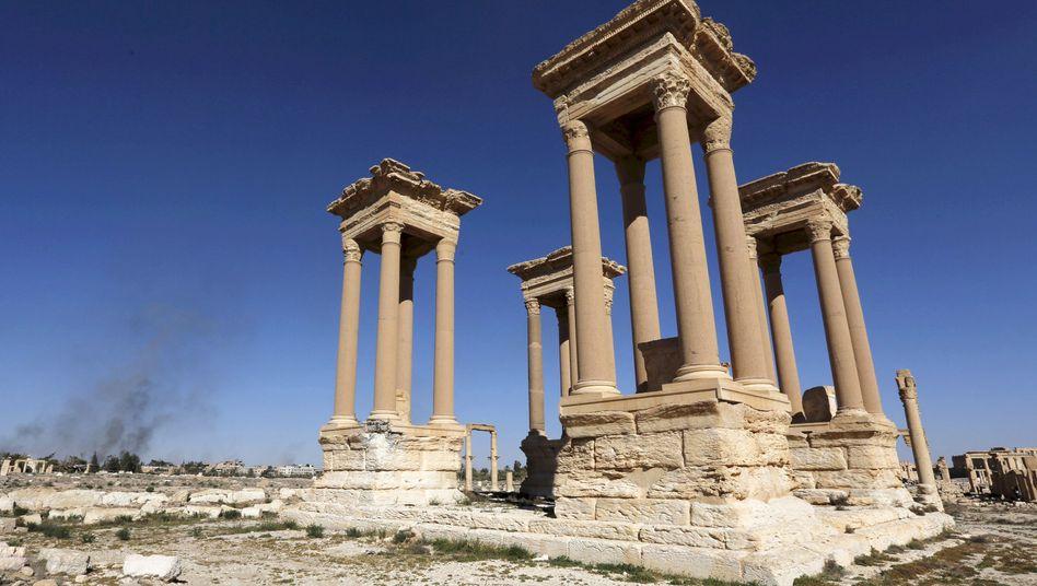 Tetrapylon in Palmyra