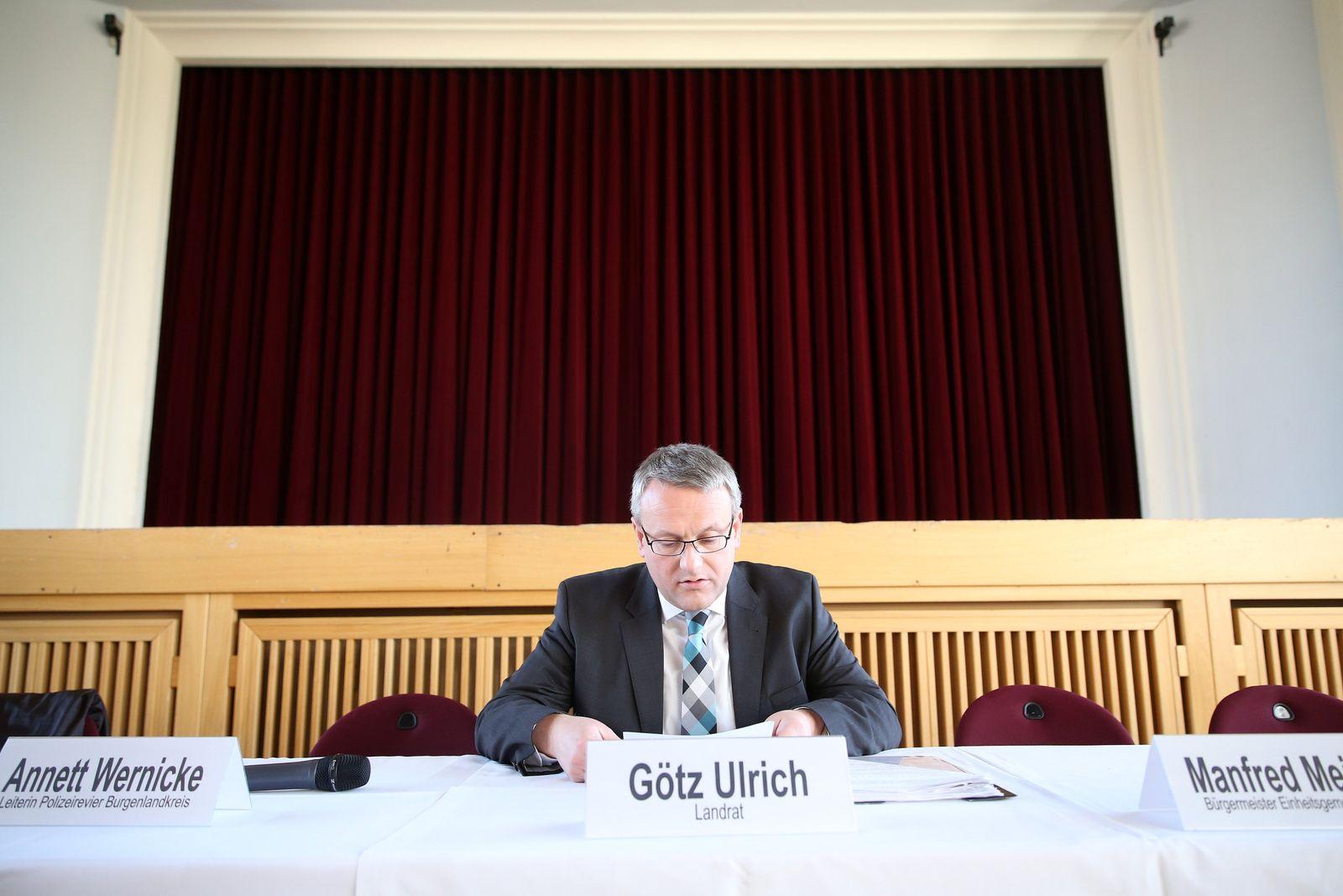 Tröglitz: Landrat Götz Ulrich