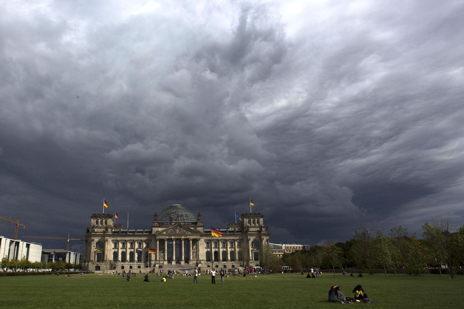 Bundestag Gebäude