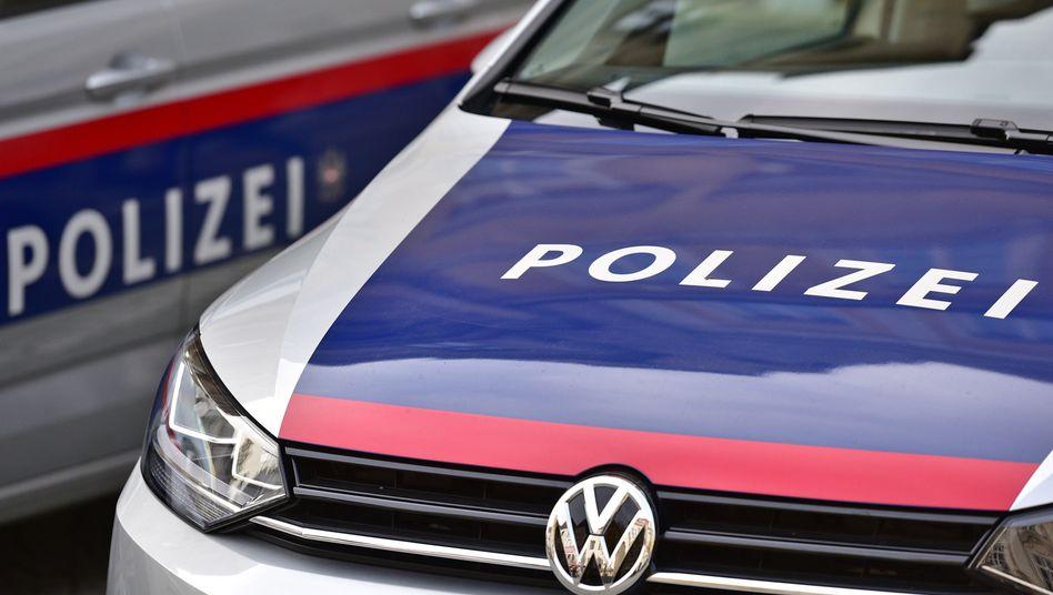 Polizeieinsatz in Österreich (Symbolbild)