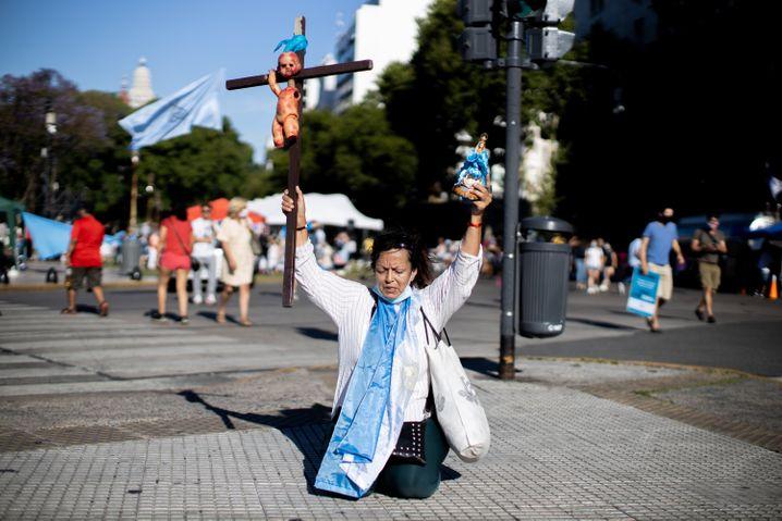 In Argentinien werden Abtreibungen bisher kriminalisiert