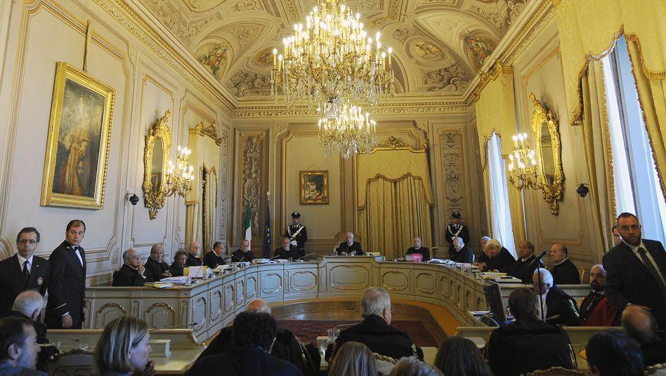 Italienisches Verfassungsgericht (Archivbild): Deutschland darf verklagt werden