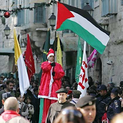 "The Christmas procession in Bethlehem: ""A wave of emigration"""