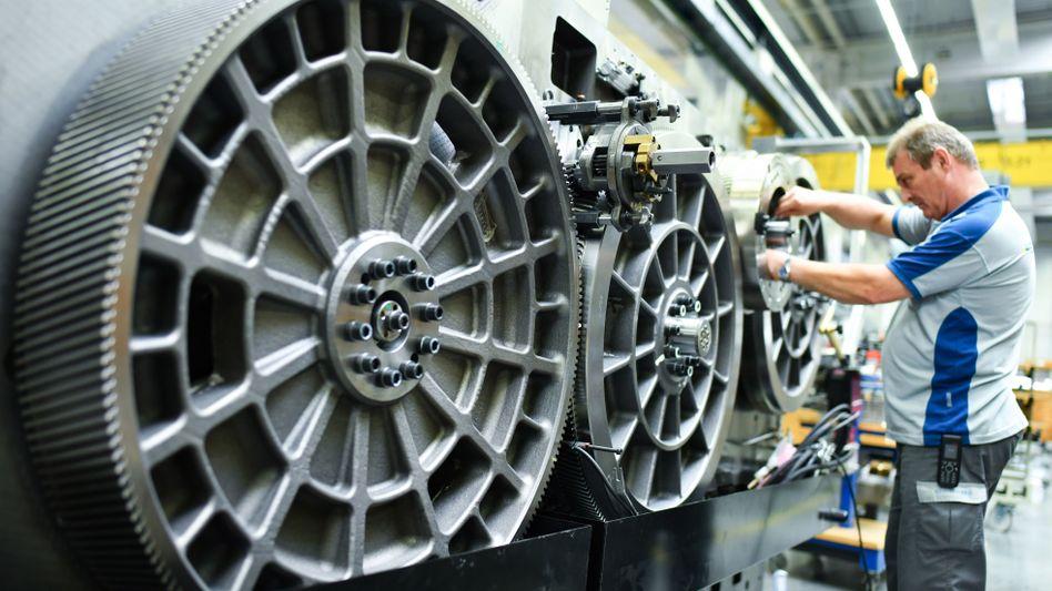 Erst Einbruch, dann Erholung und jetzt wohl Rekordumsatz: Die Maschinenbaubranche wächst (Symbolbild)