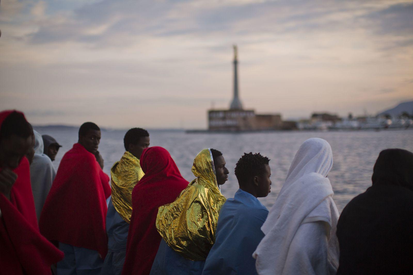 Flüchtlinge Migranten