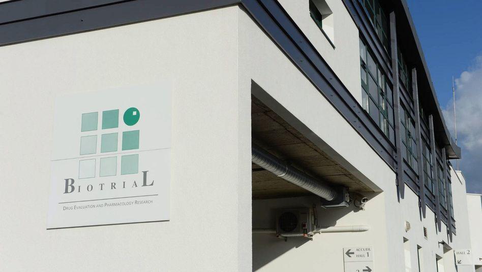 Versuchslabor von Biotrial in Rennes