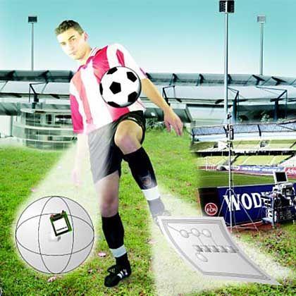 Fußball mit 3D-Ortungssystem: Digitalisierung der schönsten Nebensache