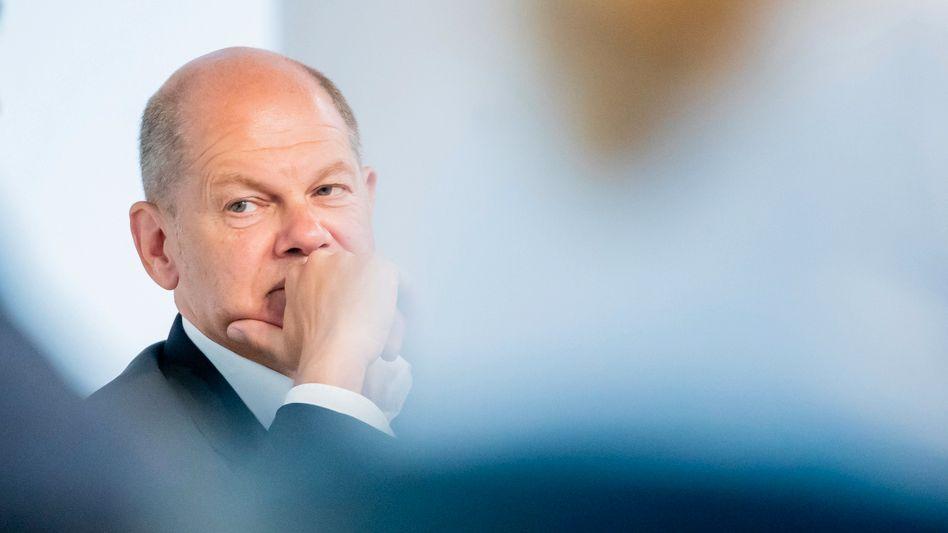 Finanzminister und SPD-Kanzlerkandidat Scholz