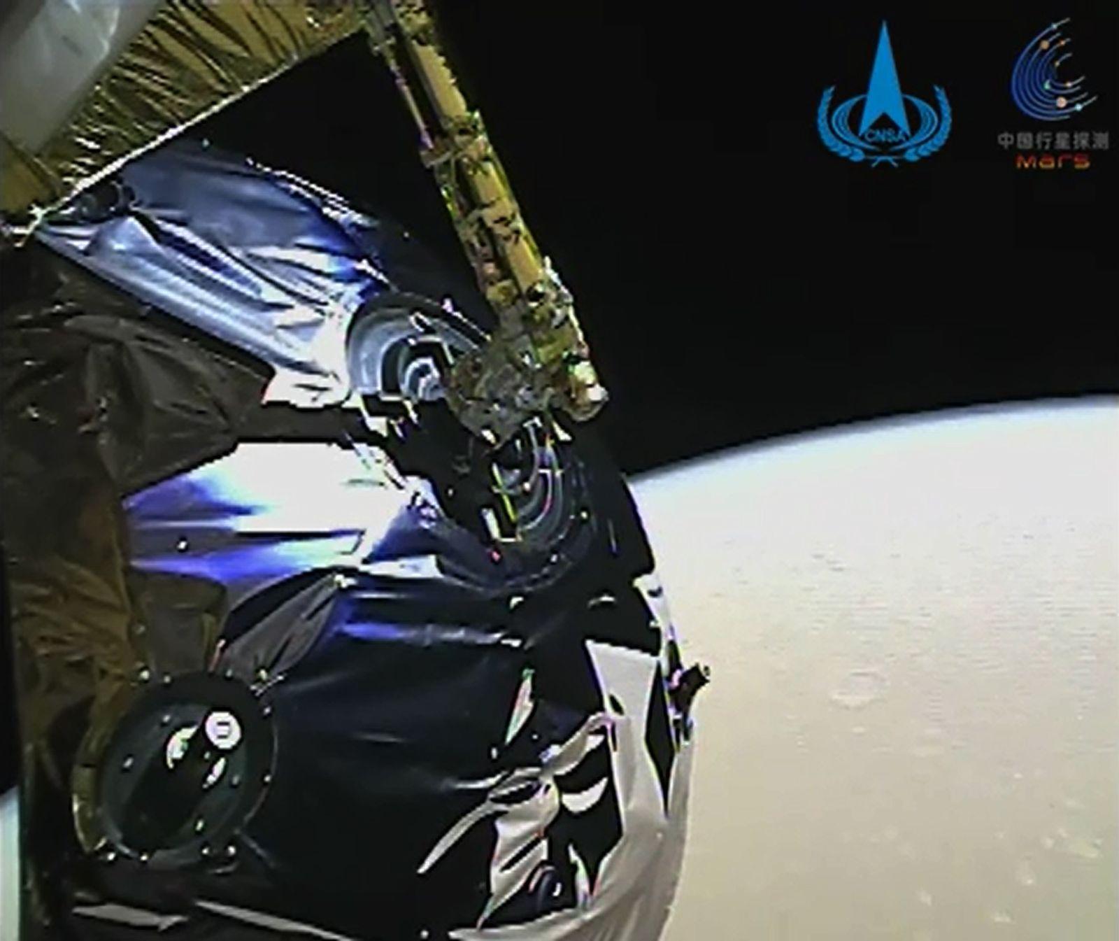 CHINA-SPACE-MARS