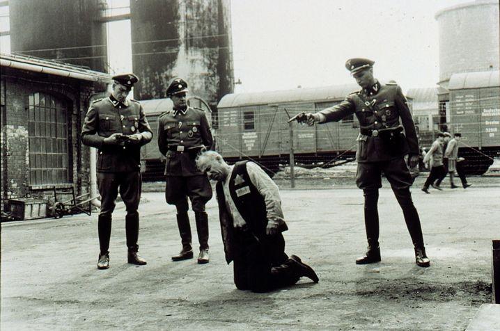 "Filmszene aus ""Schindlers Liste"""