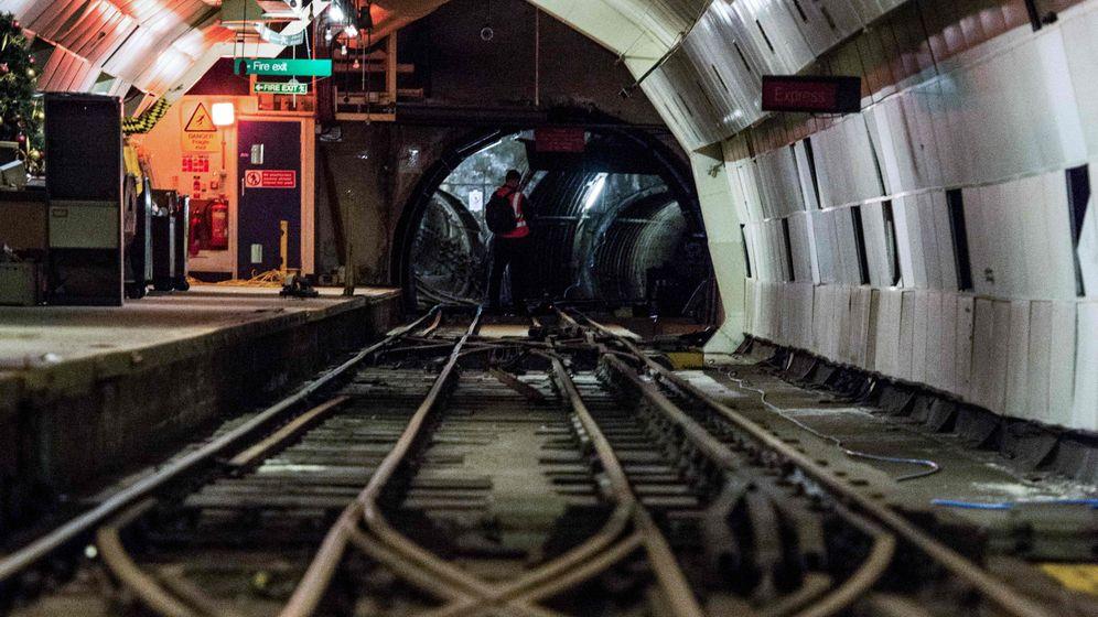 """Londons verlassene Postbahntunnel: """"Heiliger Gral des Untergrunds"""""""