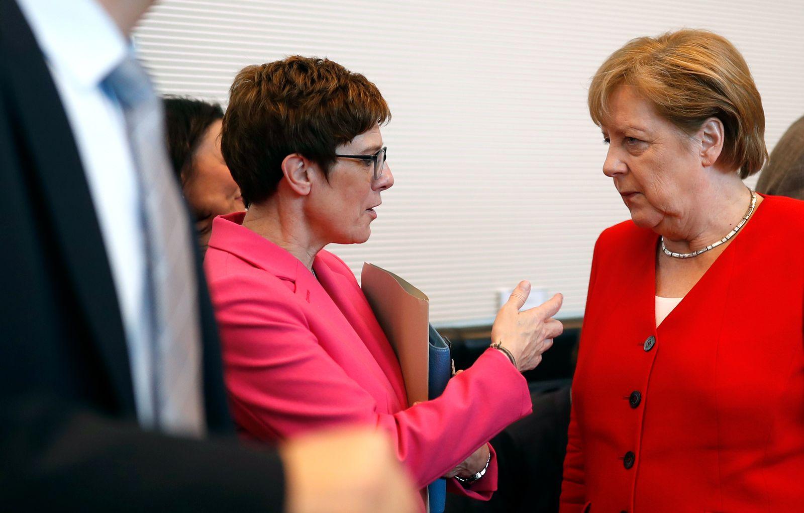 Angela Merkel/ Annegret Kramp-Karrenbauer