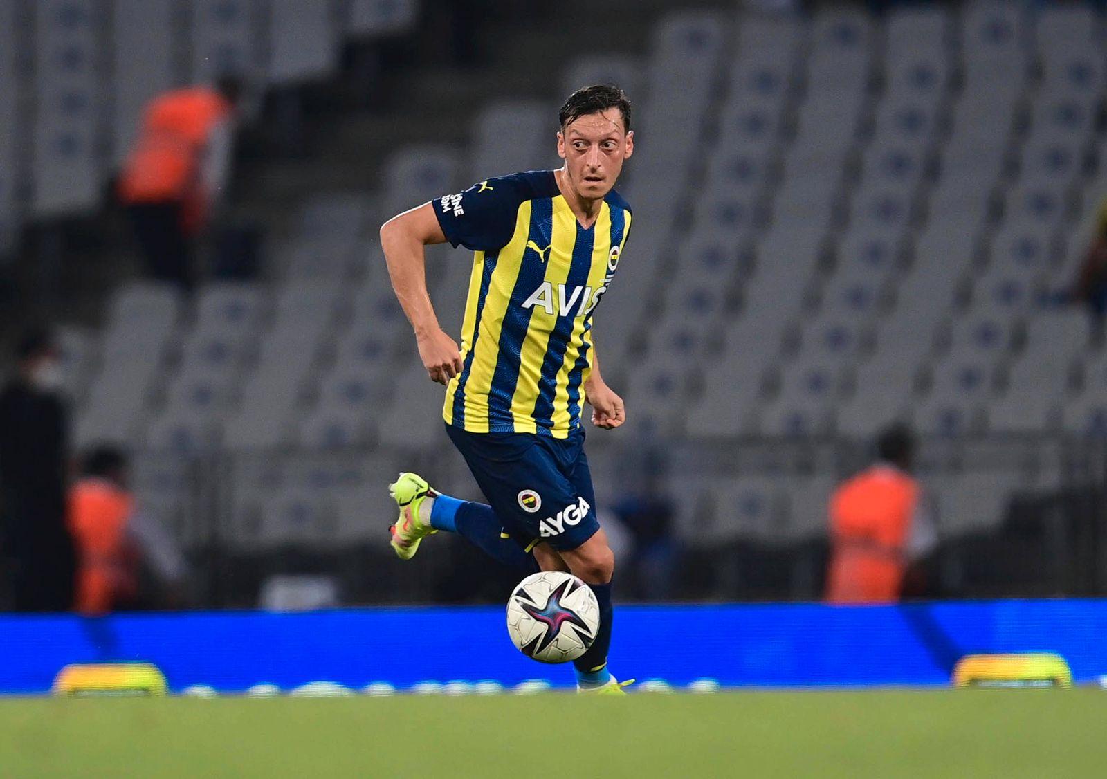 Mesut Ozil of Fenerbahce during the Friendly football match between Fenerbahce and Dynamo Kiev at Ataturk Olympic Stadiu
