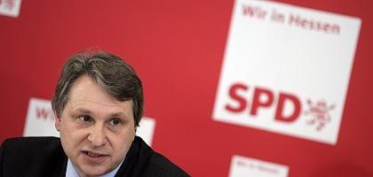 Hessischer SPD-General Schmitt: Rückzug, ohne die Partei zu informieren