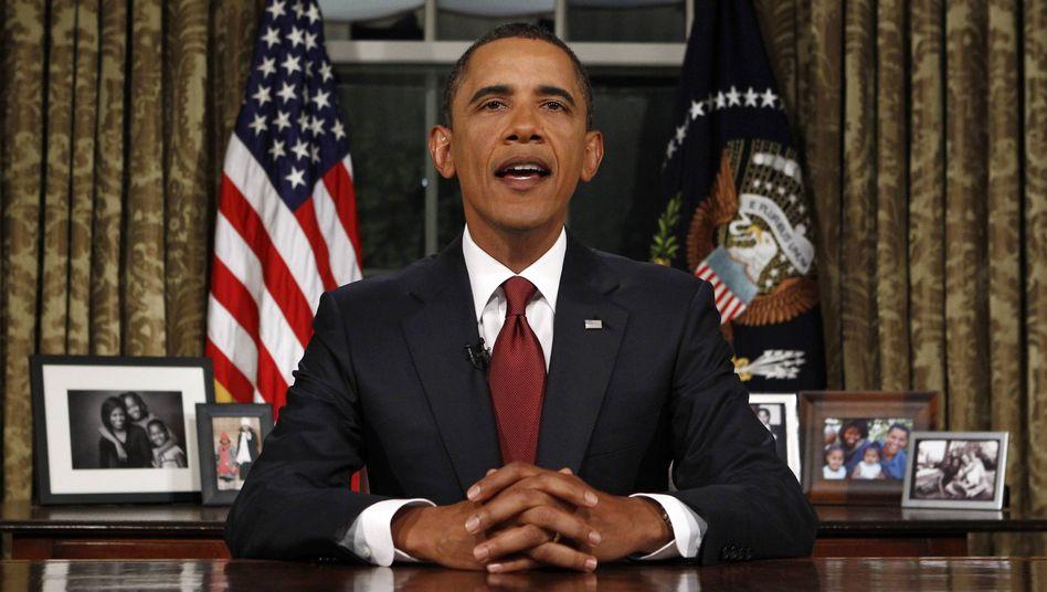Ende des Irak-Kriegs: Obama kündigt massive Hilfe für US-Wirtschaft an