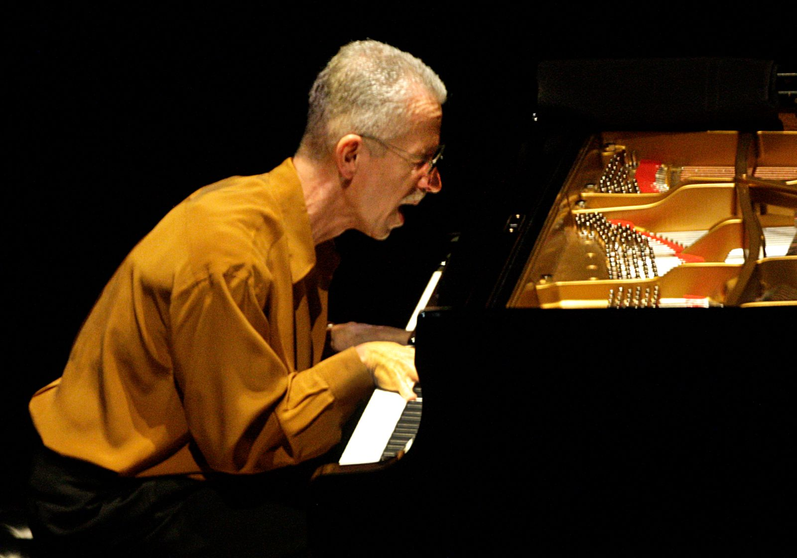 Keith Jarrett's solo performance at Walt Disney Concert Hall on Mar. 27, 2012.