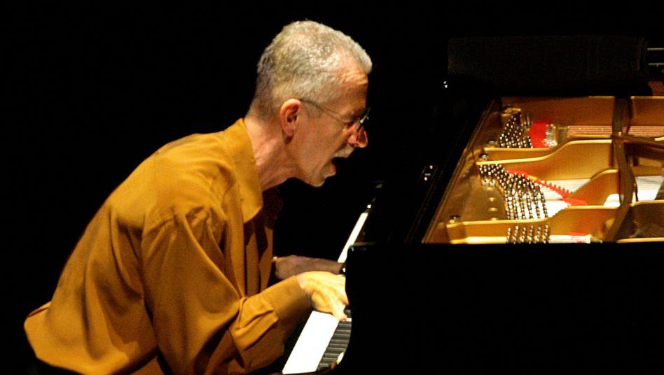 Keith Jarrett bei einem Auftritt 2012 in Los Angeles
