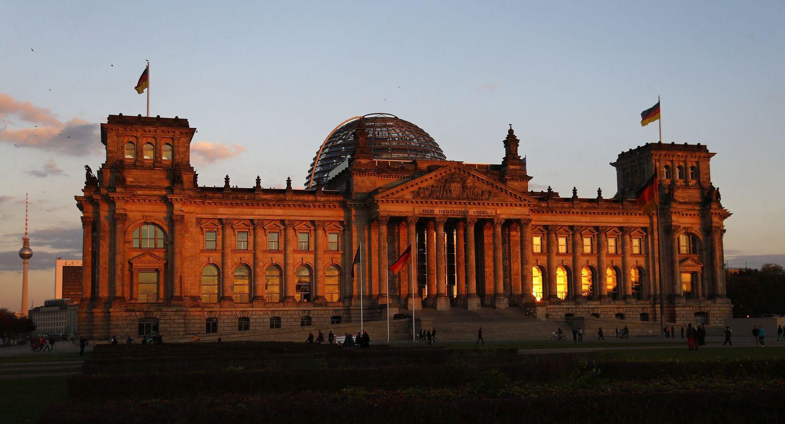 Bundestag von außen