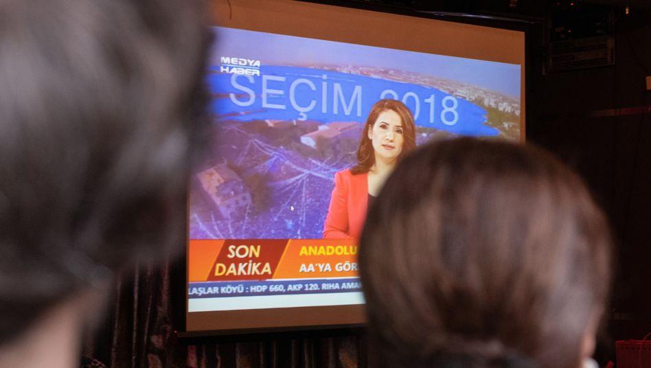 Berichterstattung über die Wahlen in der Türkei (Symbolbild aus Berlin)