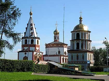 Russisch-orthodoxe Kirche in Irkutsk: Beinahe heitere, europäische Stadt