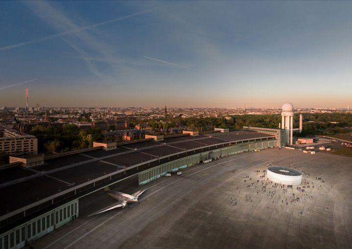 Kérés Entwurf für Tempelhof