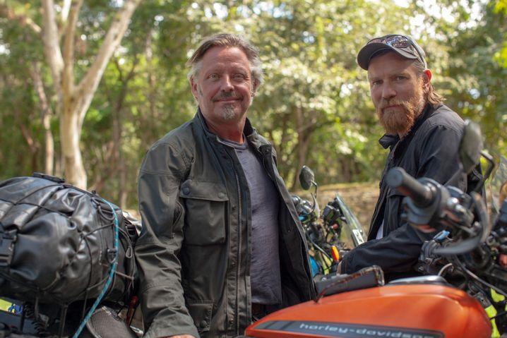 """Ewan McGregor in """"Long Way Up"""": Auf Elektrorädern Richtung Zukunft durch Südamerika"""