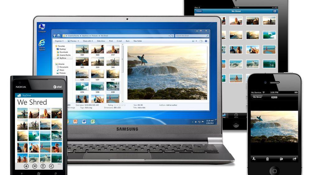 Microsoft SkyDrive: So funktioniert die Online-Festplatte