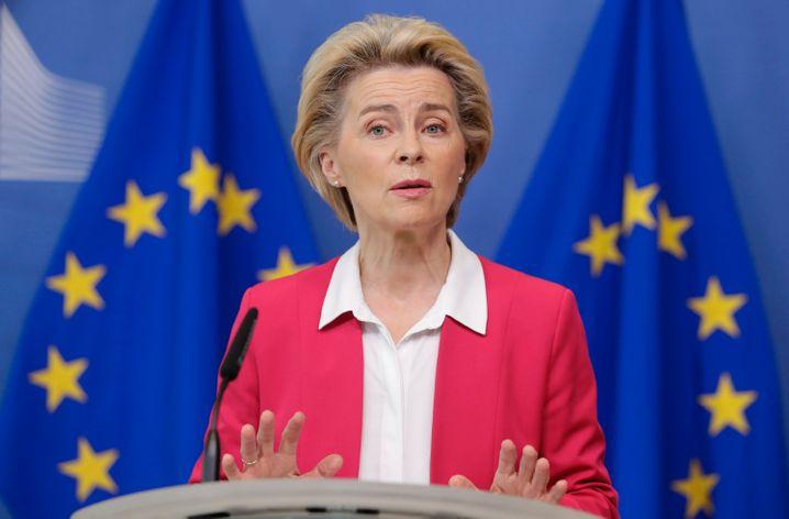 """Kommissionschefin von der Leyen bei der Vorstellung des Migrationspakts: """"Ein neuer Start"""""""