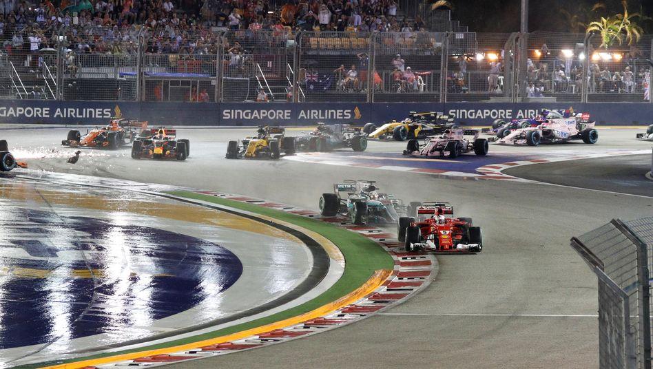 Auch Singapur wird 2020 kein Formel-1-Standort sein