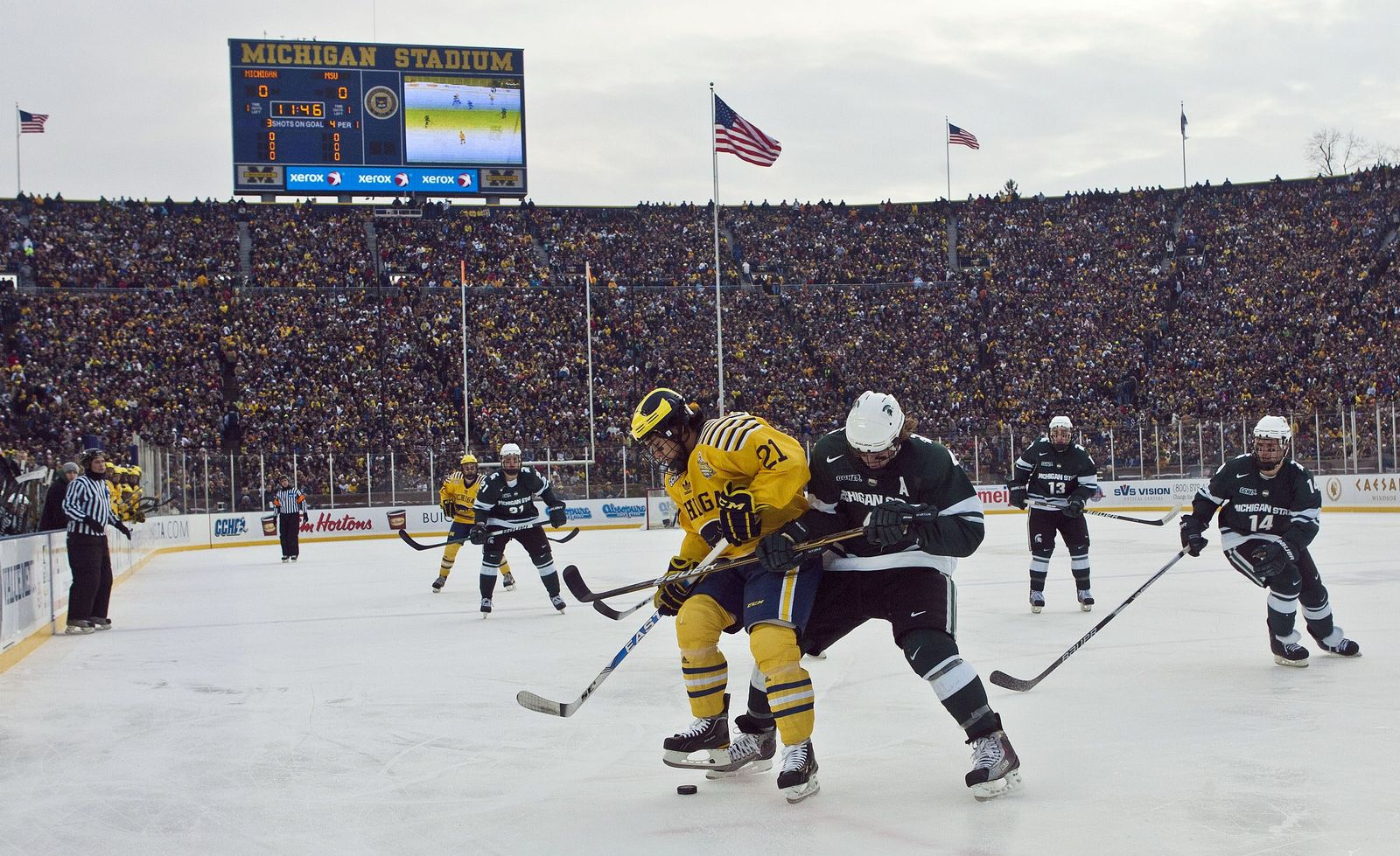 Eishockey-Weltrekord Michigan