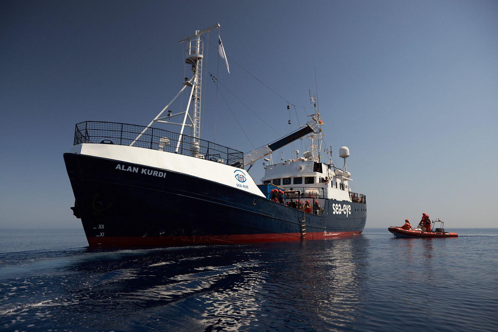 Coronavirus - Krise auf Rettungsschiff «Alan Kurdi»