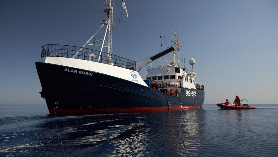 """""""Alan Kurdi"""": Das Rettungsschiff ist nach dem syrischen Jungen benannt worden, der 2015 vor Bodrum ertrunken ist"""