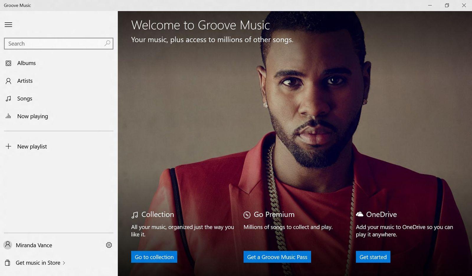 EINMALIGE VERWENDUNG Microsoft Groove