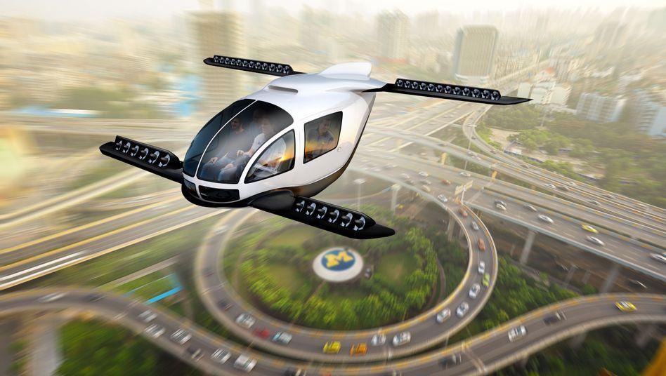 Entwurf eines Flugtaxis