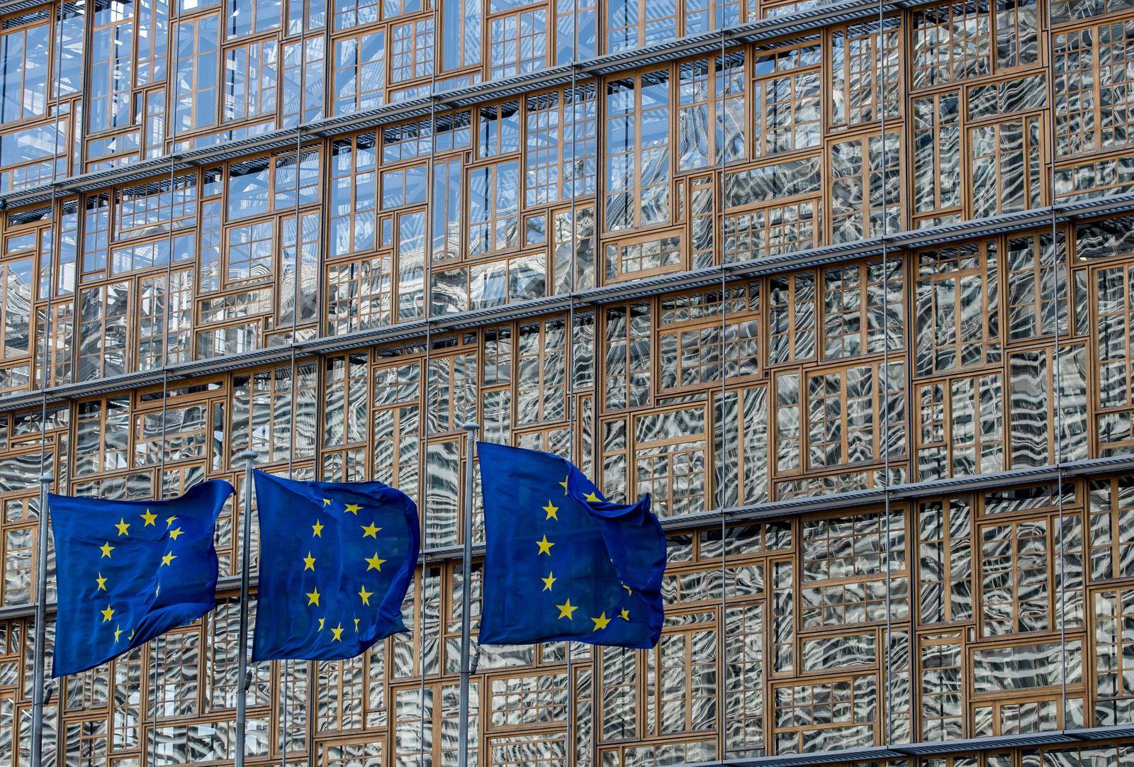 Illustration European Council, Brussels, Belgium - 26 Mar 2020