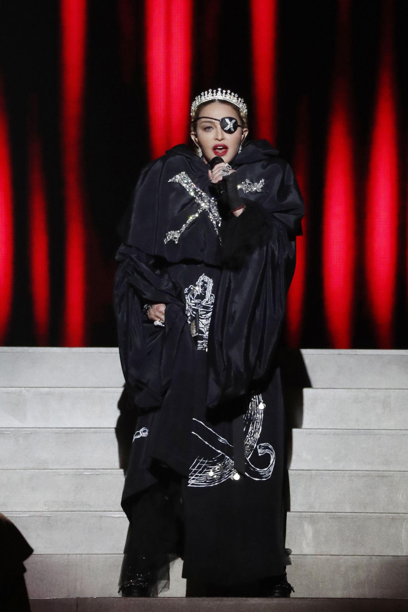 ESC/ Ticker/ Madonna