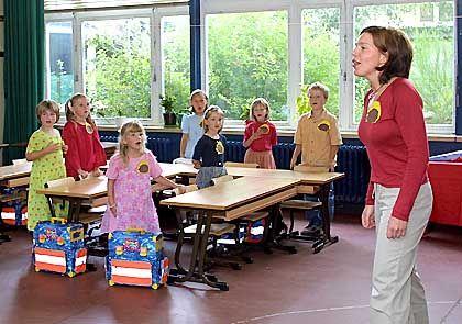 """Erster Tag, erste Klasse: """"Mädchen sind eindeutig die Gewinner des Schulsystems."""""""